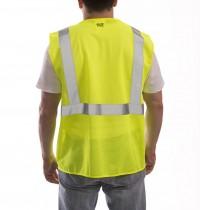 Job Sight Class 2 Zip-Up Mesh Vest