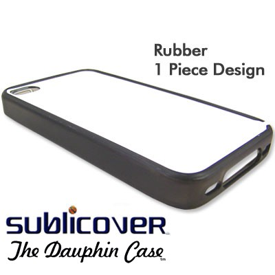 iPhone 4/4s Dauphin Rubber Case - Gray