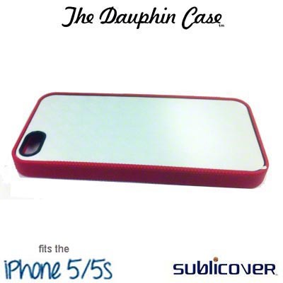 iPhone 5/5s Dauphin Rubber Case - Red