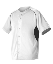 Youth 2 Color Full Button Baseball Jersey