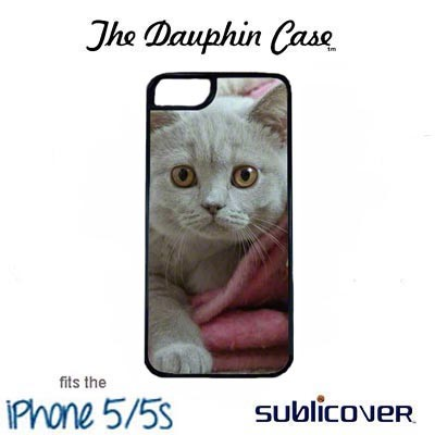 iPhone 5/5s Dauphin Case - Black