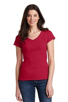 Gildan Softstyle Junior Fit V-Neck T-Shirt