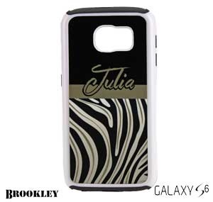 Galaxy S6 Brookley Phone Case - White