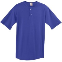 TWO-BUTTON BASEBALL JERSEY