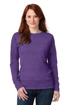 Anvil Ladies French Terry Crewneck Sweatshirt