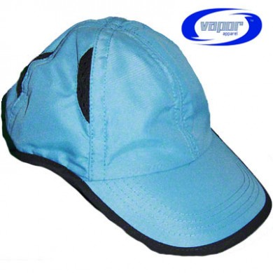Vapor Back Country Hat - Blue with Black Trim