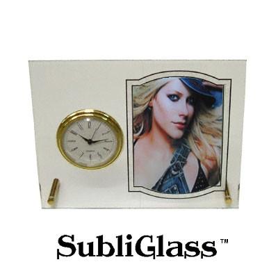 Glass Desk Clock