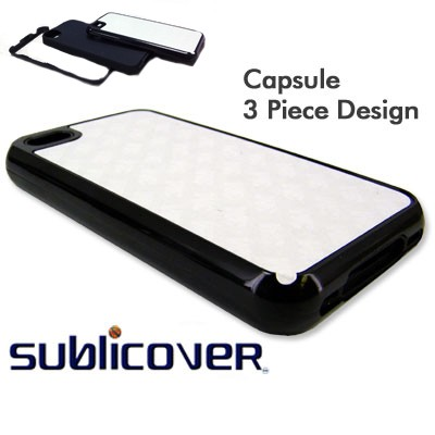 iPhone 4/4s Capsule Case - Black