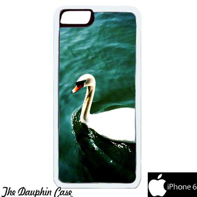 iPhone 6/6s Dauphin Rubber Phone Case - White