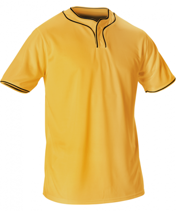 Youth Extreme Microfiber 2 Button Baseball Jersey