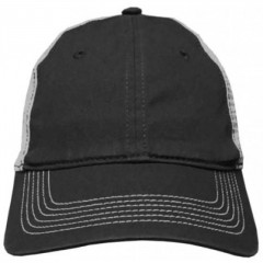 District Made Mesh Back Cap Embroidery