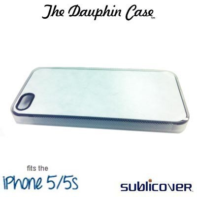 iPhone 5/5s Dauphin Rubber Case - Clear