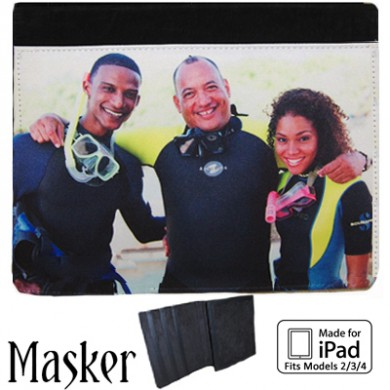 iPad 2/3 Notebook Case - Black