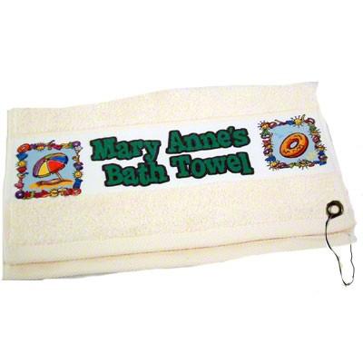 Image Towel w Gromet 13X18