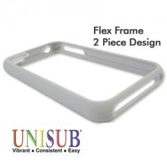 iPhone 4/4s Flex Frame Cover - Matte Gray