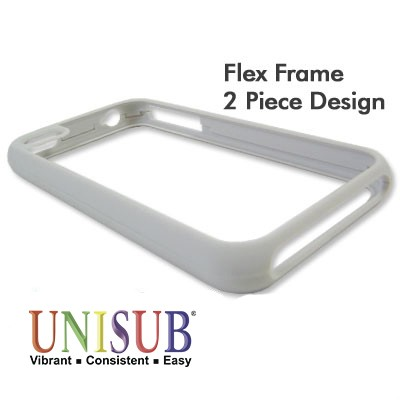 iPhone 4/4s Flex Frame Cover - Matte Gray