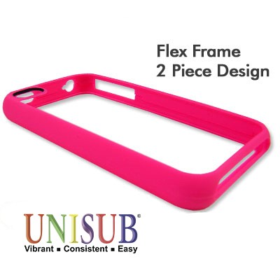 iPhone 4/4s Flex Frame Cover - Pink