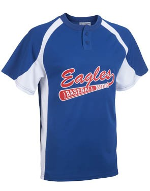Youth Line Drive 2-Button Jersey