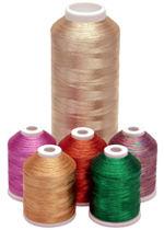 J Metallic Thread